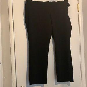 Black slacks 22WP JM Collection Never Worn